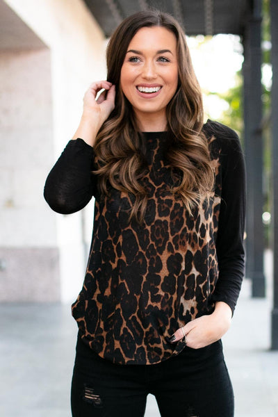 Lightweigth Cheetah Print Top