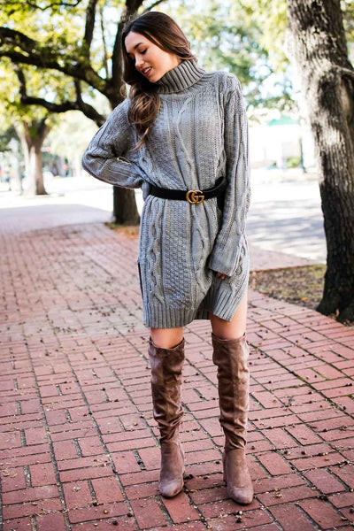 Turtleneck Sweater Tunic