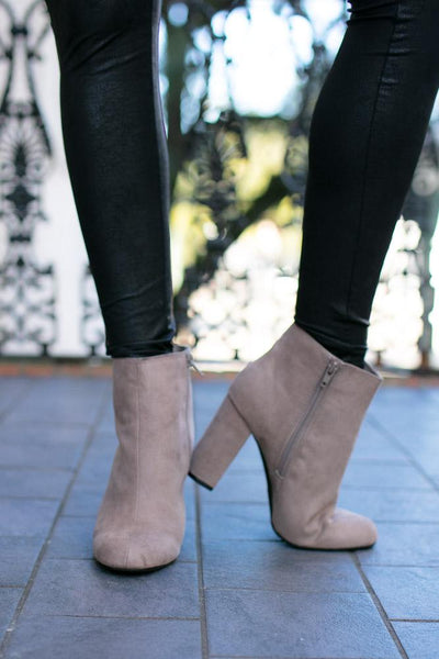 Ankle Bootie- Grey