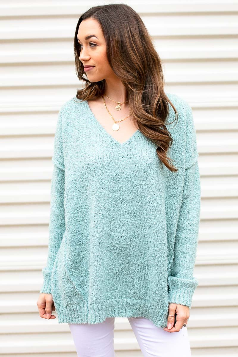 Mint Oversized Sweater