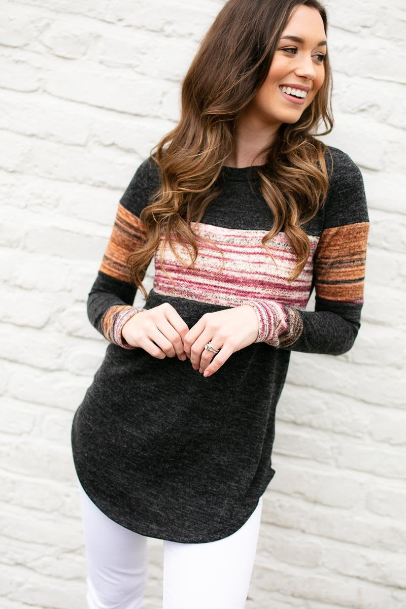 Vintage Stripe Top