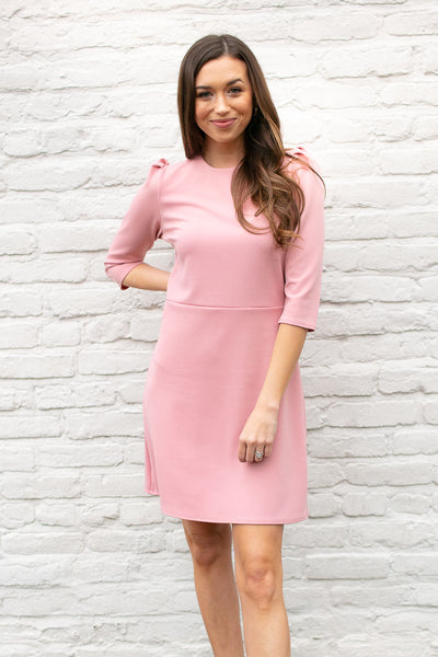 Time and Again Puff Sleeve Dress