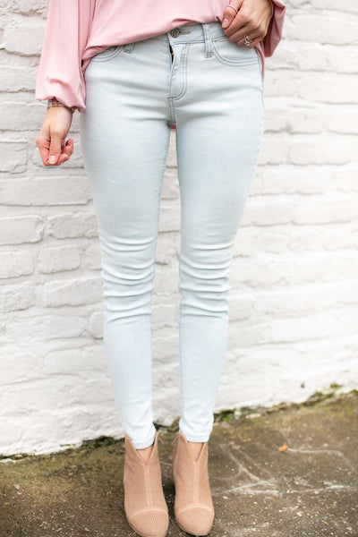 One and Only Light Wash Skinny Jeans