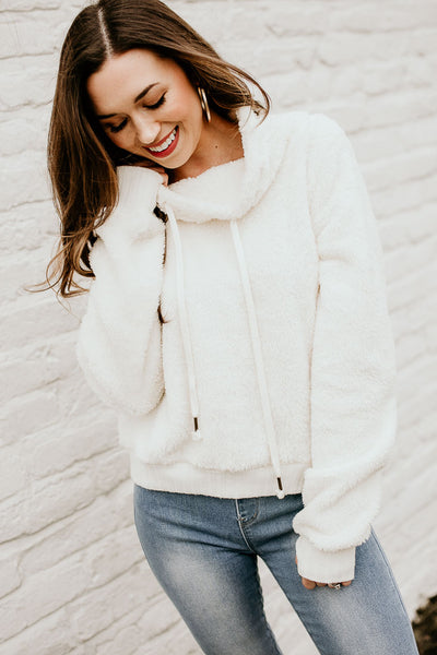 Cozy and Cute Cowl Neck Pullover