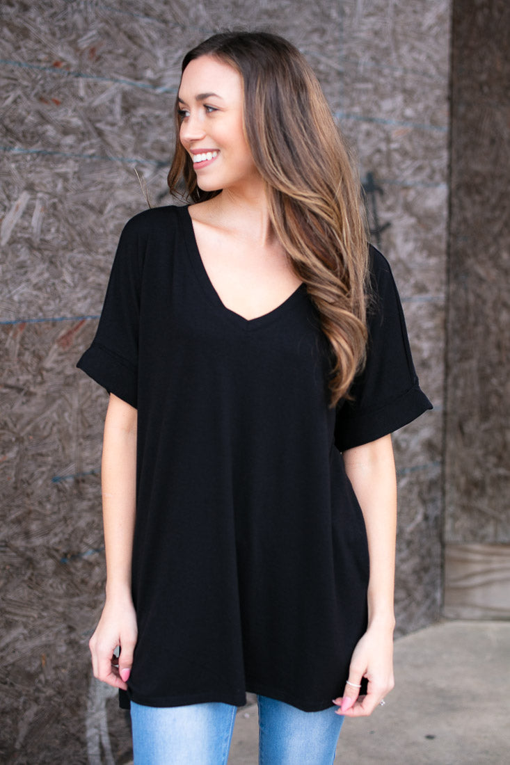 Women's Casual Dolman Sleeve Top