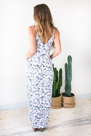 Light as a Flower Maxi Dress-Dresses-Lotus Boutique-Lotus Boutique