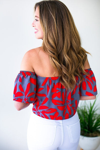 Tops Call It What You Want Tie Front Crop Top - Lotus Boutique
