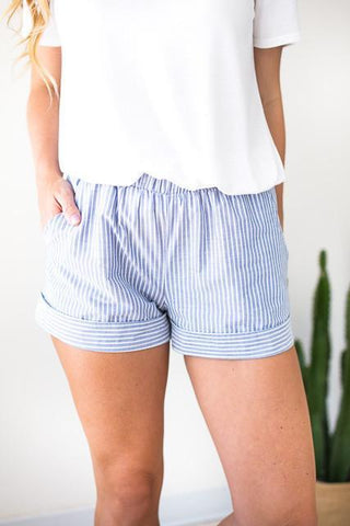Feels Like Summer Seersucker Shorts