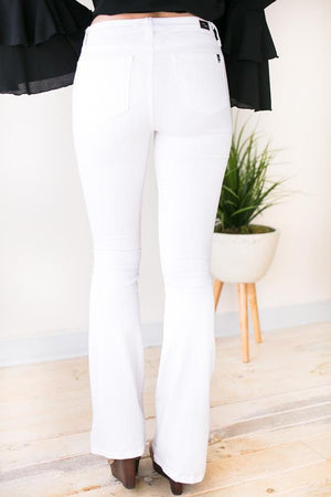 Flare Jeans in White