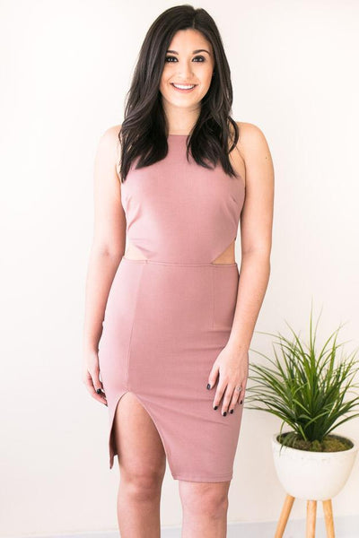 Dresses Season of Fun Cut Out Bodycon Dress - Lotus Boutique