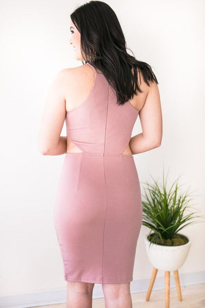 Blush Cocktail Dress