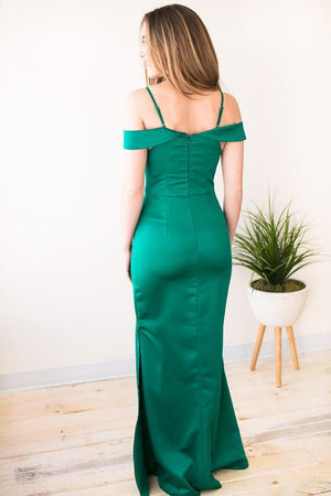 Jealousy Emerald Green Ball Gown