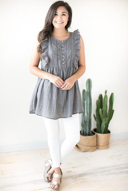 Free Your Mind Babydoll Tunic
