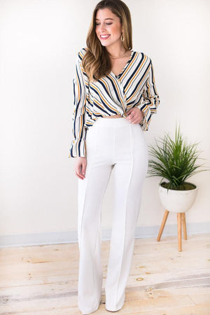 The Best White High Waist Pants