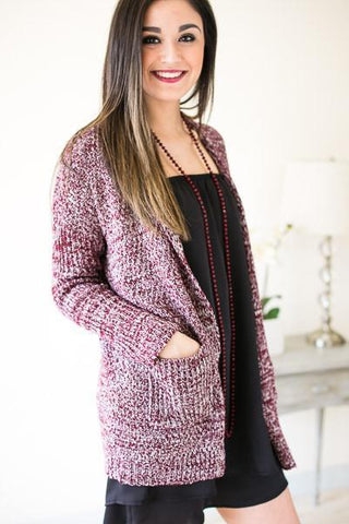 Meet Me At The Tide Knit Cardigan