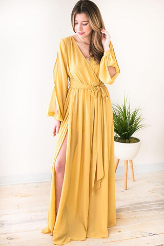 Summer Daze Off Shoulder Maxi Dress