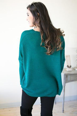Secret Crush Dolman Sleeve Sweater
