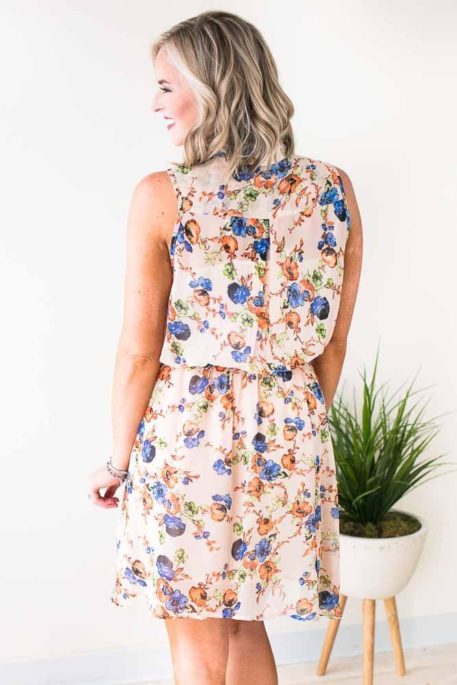 Floral Day Dress