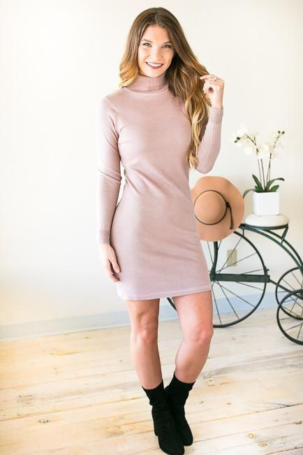 Still Falling For You Sweater Dress