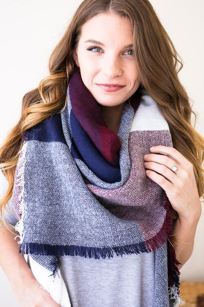 Accessories Home Team Blanket Scarf - Lotus Boutique