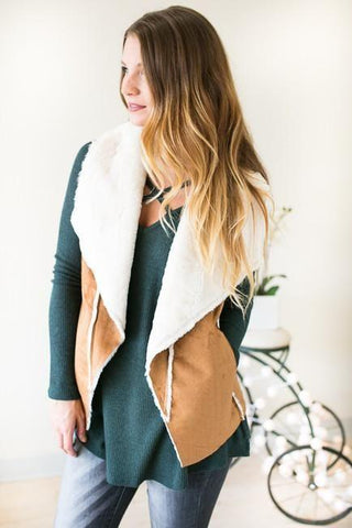 Wild at Heart Sherpa Vest