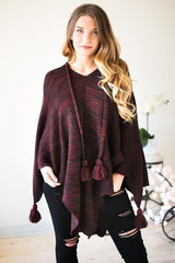 Coming Home Oversized Poncho