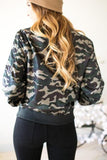 In The Woods Camo Bomber Jacket-Tops-Lotus Boutique-[boutique tops]-Lotus Boutique