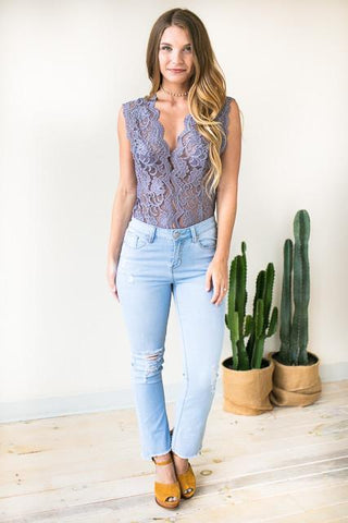 Midnight Moves Lace Bodysuit