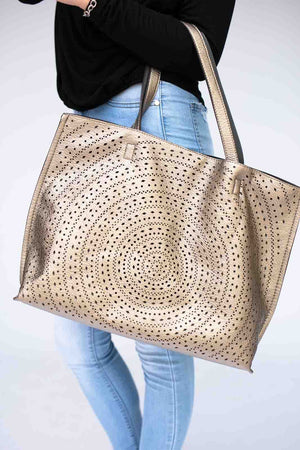 Bronze Detailed Tote
