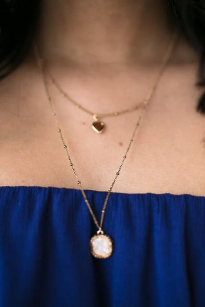 Accessories Tender Moments Layered Necklace - Lotus Boutique