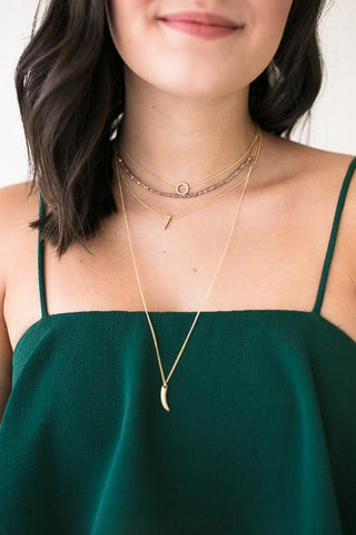 Get Away From It All Layered Choker