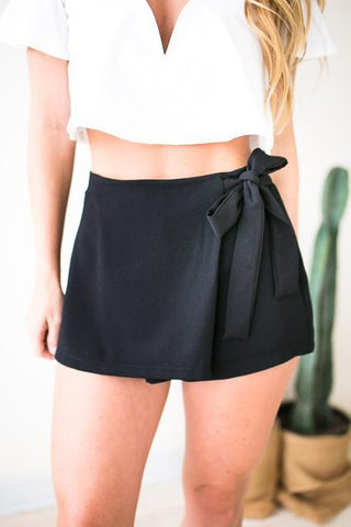 While We're Young Black Skort