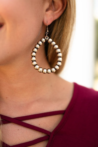 Pearl Teardrop Earrings