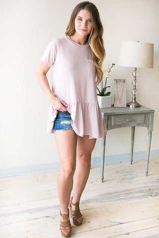 The Perfect Pocket Babydoll Tunic