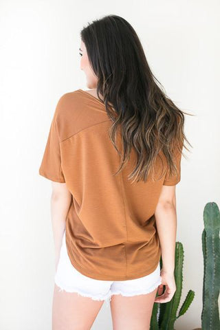 More Life V-Back Basic Top
