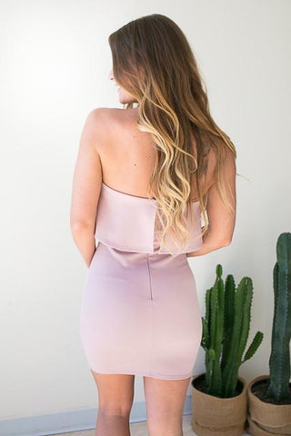 Entranced Strapless Bodycon Dress