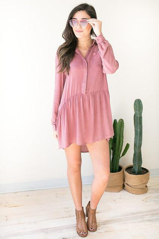 Passionfruit High Low Dress