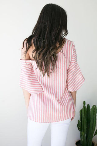 Spring Time Party One Shoulder Top