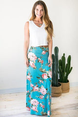 Be that Song Floral Maxi Skirt