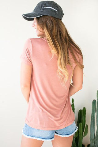 Heatstroke Apricot Pocket Tee