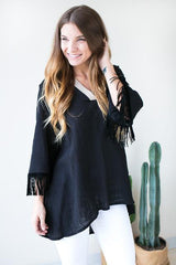 If You Knew Linen Tunic