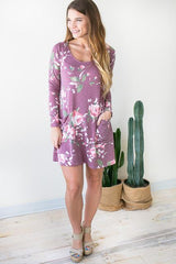 Easy Living Floral Dress