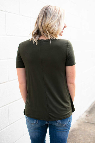 Olive Top