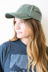 Shop the Trends Green Baseball Cap