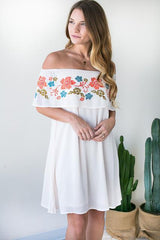 Feel Good Off Shoulder Dress