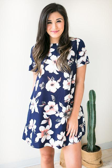 Sing Me Your Tune Floral Dress