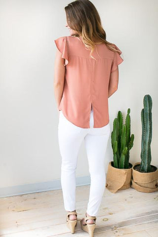 Loyalty Cap Sleeve Top