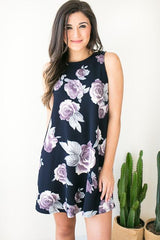Floral Mixtape Textured Dress