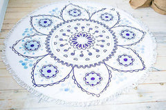 Blissful Flower Roundie Towel