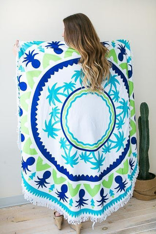 Palm Island Roundie Towel